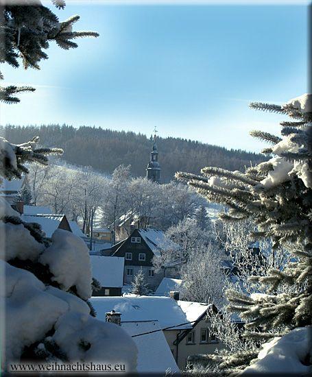Seiffen im Winter