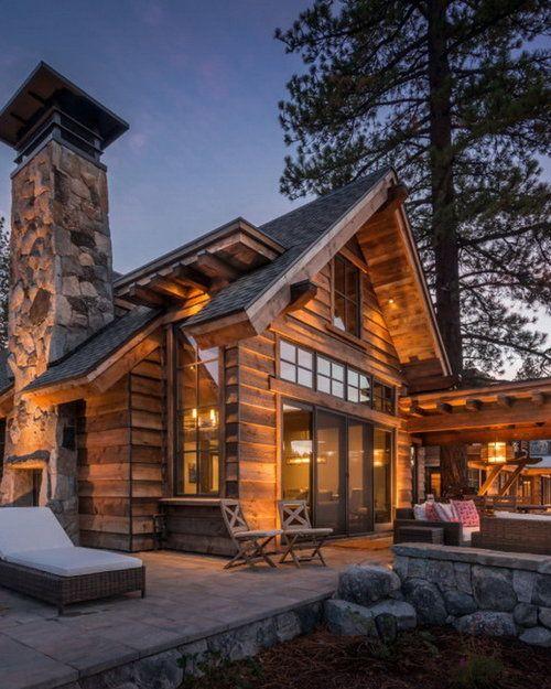 #Architect Dream #Cabin   #LakeTahoe #California By Mark Tanner  #Construction