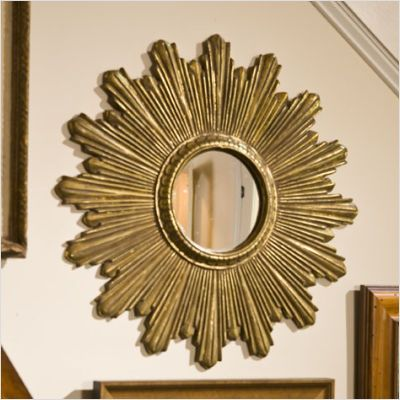 60u0027s wall decor... sunburst mirror
