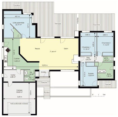 dcouvrez les plans de cette maison fonctionnelle sur wwwconstruiresamaisoncom