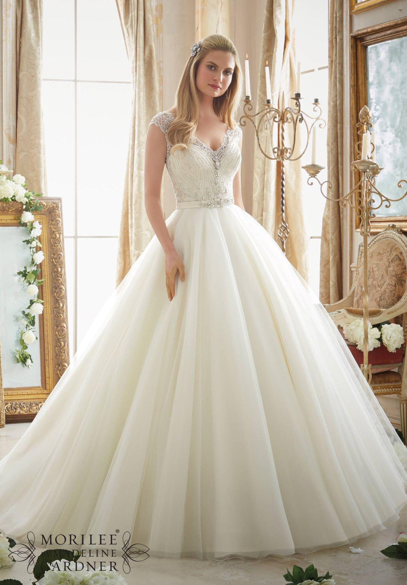Mori Lee - 2875 - All Dressed Up, Bridal Gown | Mori lee, Bridal ...