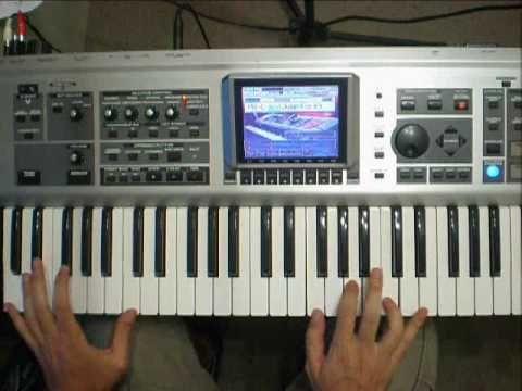 Van Halen Jump Cover On Fantom X6 Youtube Tutorial Piano