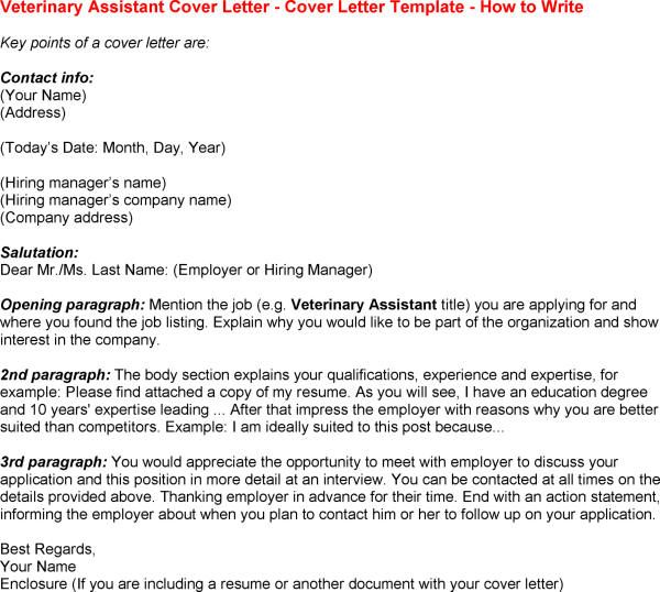 Veterinarian Resume Best Sample Cover Letters Need Even More Attentiongrabbing