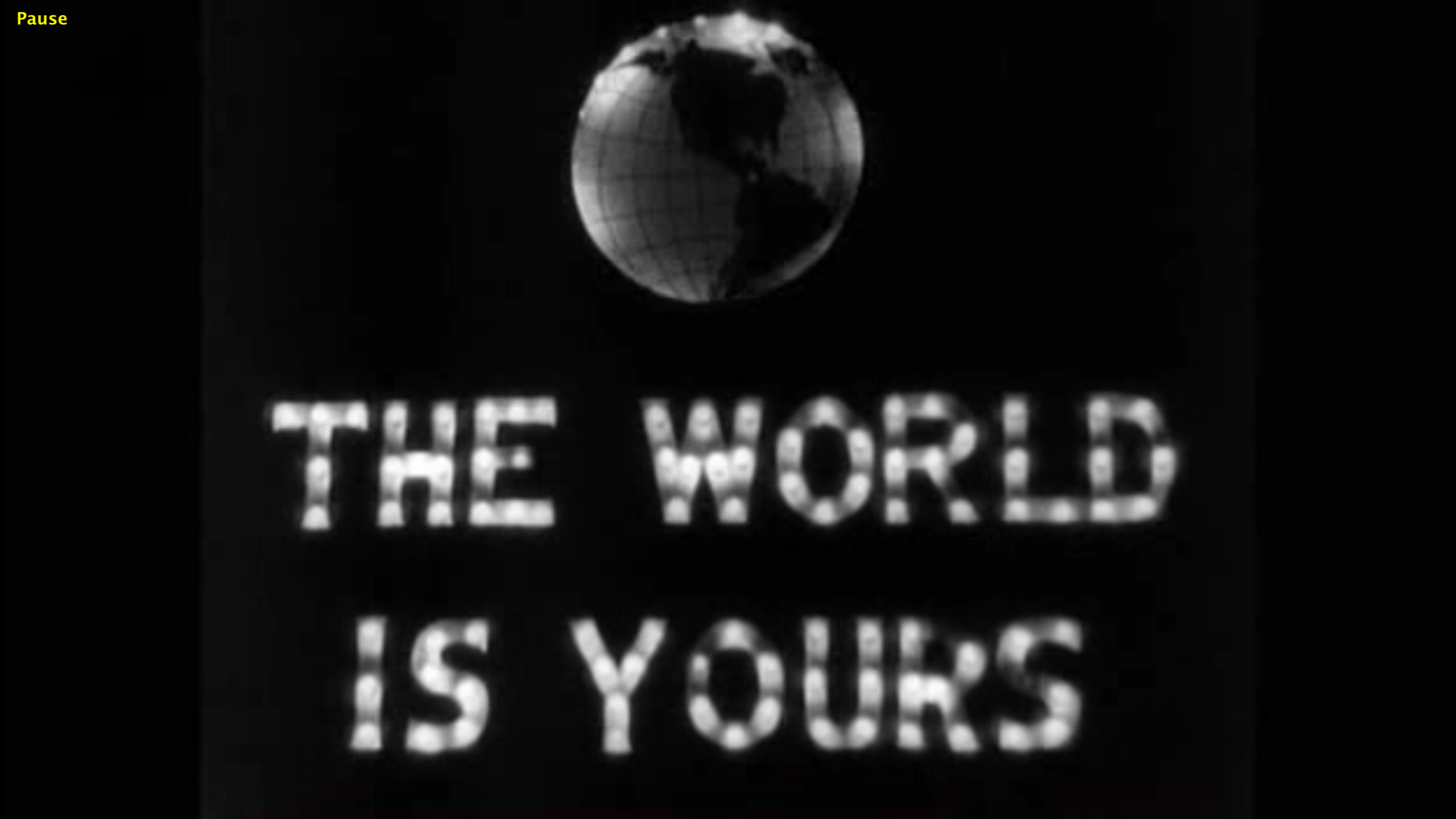 The World Is Yours Images Scarface Quotes Scarface 1932