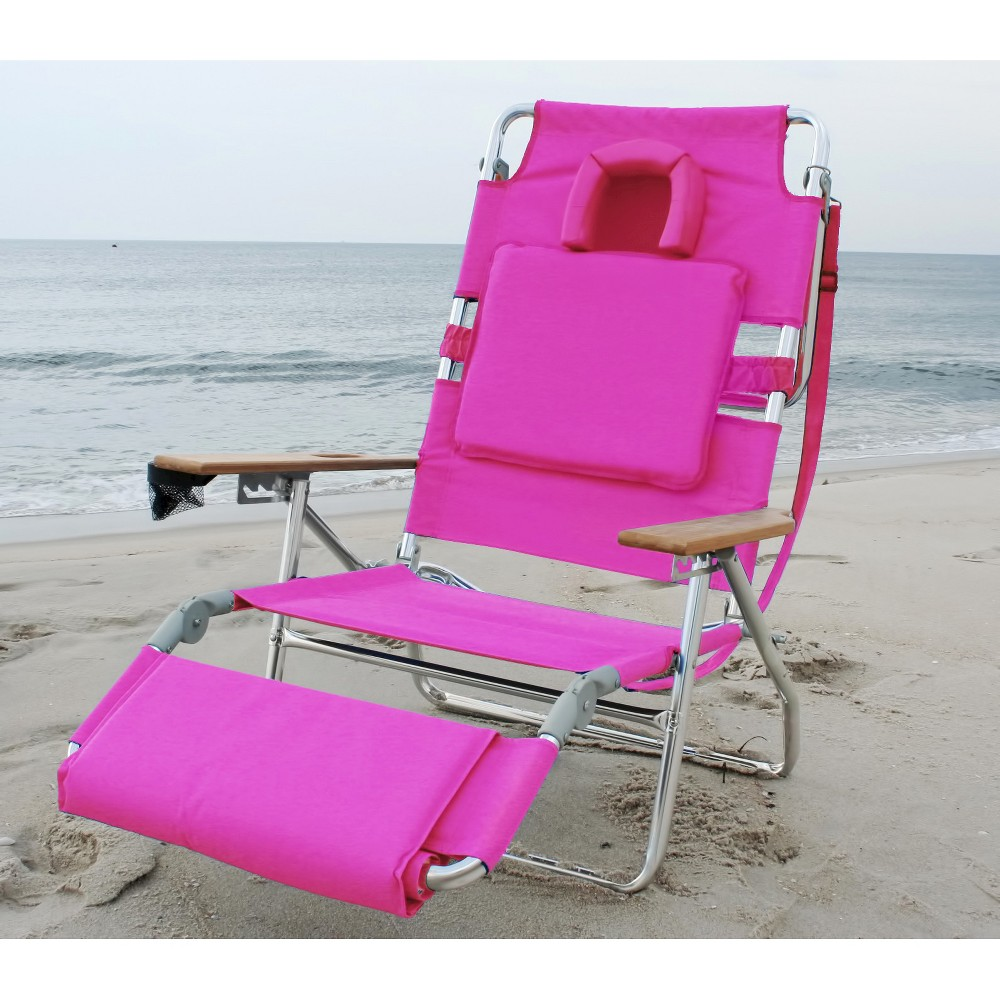 Ostrich deluxe in face down beach chair red beach chairs and