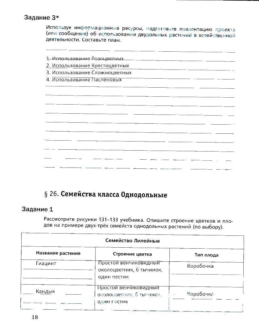 Рабочая тетрадь по географии раковская готовые домашние задания
