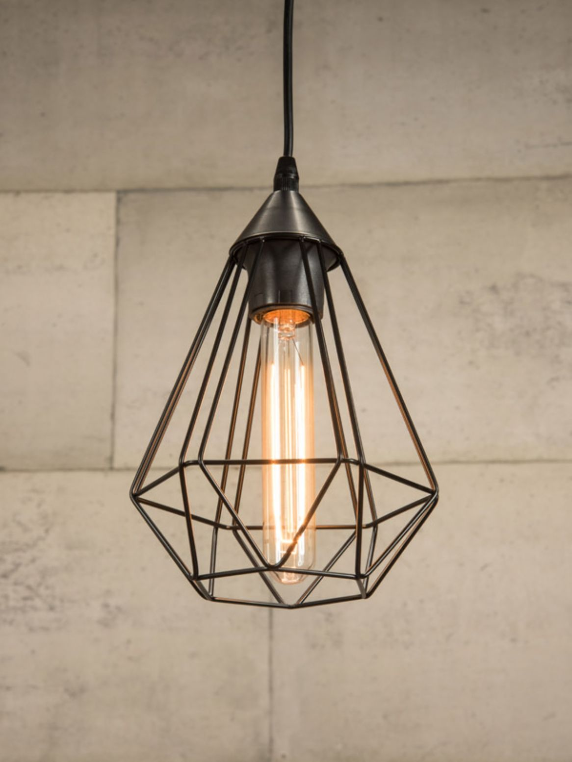 Light Pendants Black Wire Cage Pendant Light Depa Dani In 2019 Cage