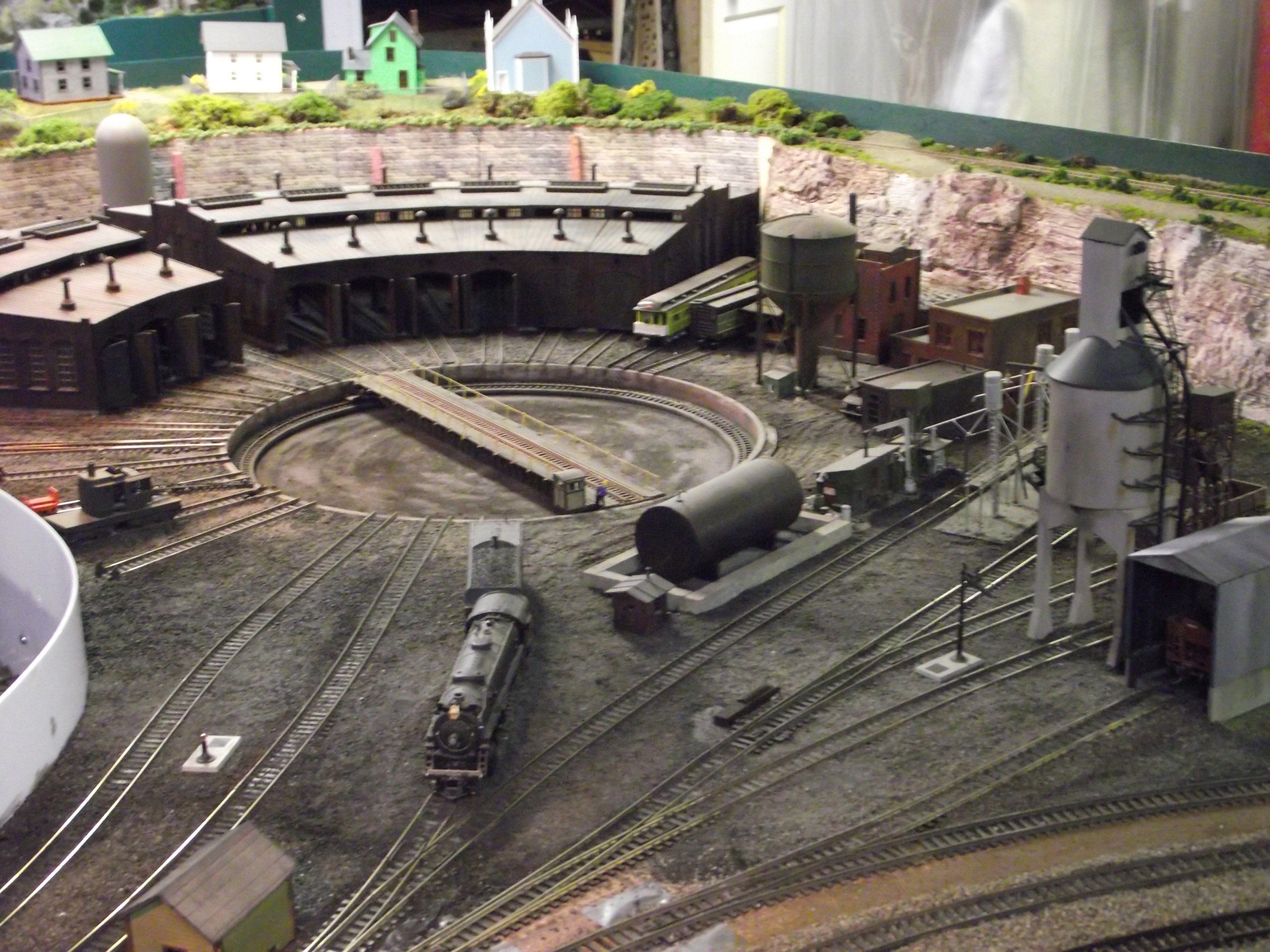Model railroad shelf plan benchwork our layout model