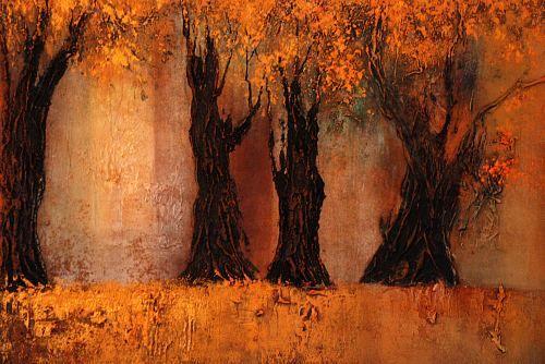 """Soraya Hamzavi-Luyeh, """"Goldener Herbst"""""""