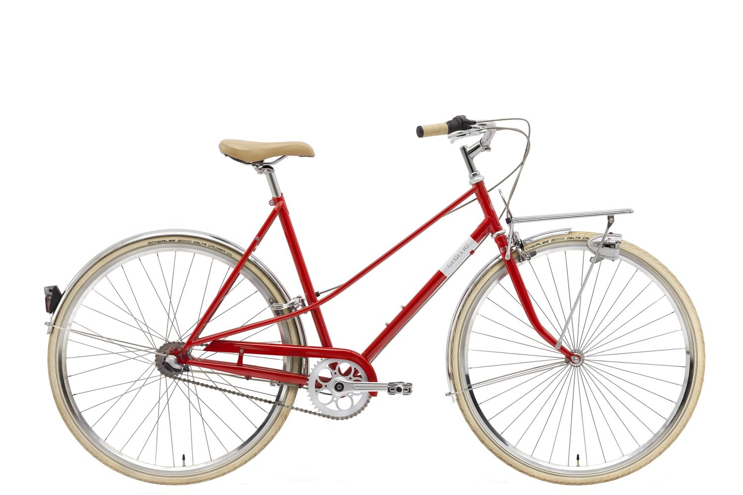 Creme Caferacer Lady Solo 7 Classic City Bike 3 Colours With