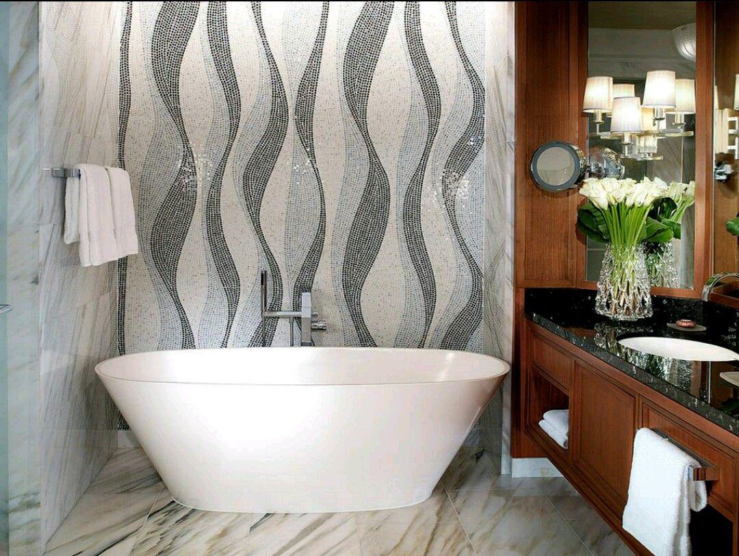 Feminine bathrooms that promise a refreshing dip decor advisor - Four Seasons Hotel Dubai Uae Project Type New Hotel Architect Watg Dsa Landscape Architect Edsa Lighting Designer Craig Roberts Art Consultan Pinteres