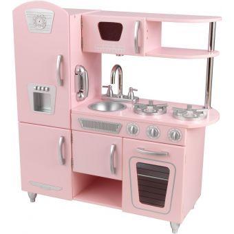 Cocina Juguete Cocinita Color Rosa Kidkraft Cocinas Retro Cocinas De Juguete Juegos De Niñas Cocina