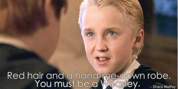 Draco Malfoy Quotes Brought To You By Quotes Worth Repeating Draco Malfoy Quotes Draco Malfoy Draco