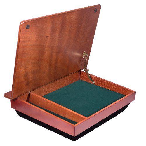LapGear Schoolhouse Wood LapDesk W/ Storage (45075) Lap Desk Http://