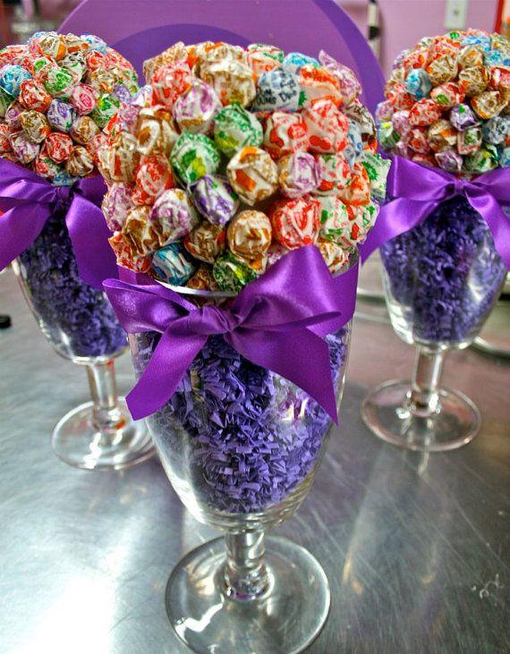 Dum Dum Lollipop Sucker Candy Land Centerpiece Vase Candy Buffet