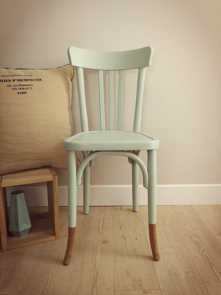 henriette chaise bistrot baumann ann es 30 40 relook e aux. Black Bedroom Furniture Sets. Home Design Ideas