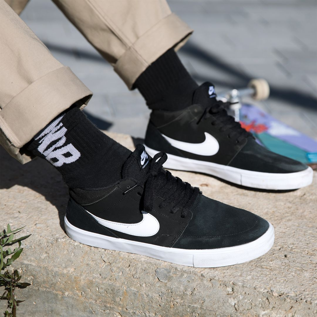 cheap prices new high quality check out Nike SB Solarsoft Portmore II Mid Men's Skateboarding Shoe Size ...