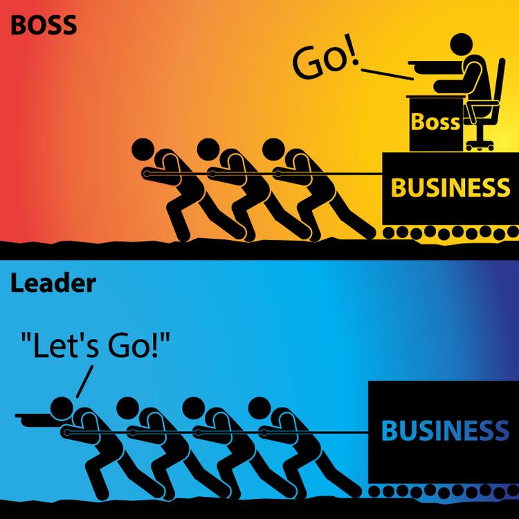 Картинка лидер и босс