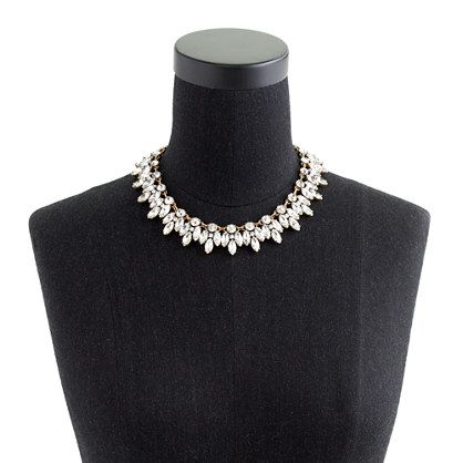 Crystal leaves necklace jewelry accessories Weddings Jewelry