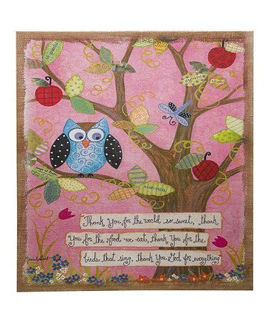 Love this Inspirational Bird Canvas on #zulily! #zulilyfinds