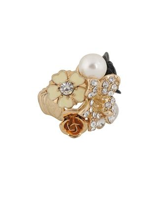 Spring Cluster Ring at Forever21...love