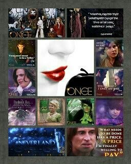 Once Upon A Time mini collage