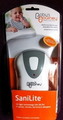 Product Review Of Baby S Journey Sanilite Uv Hand Held Sanitizer