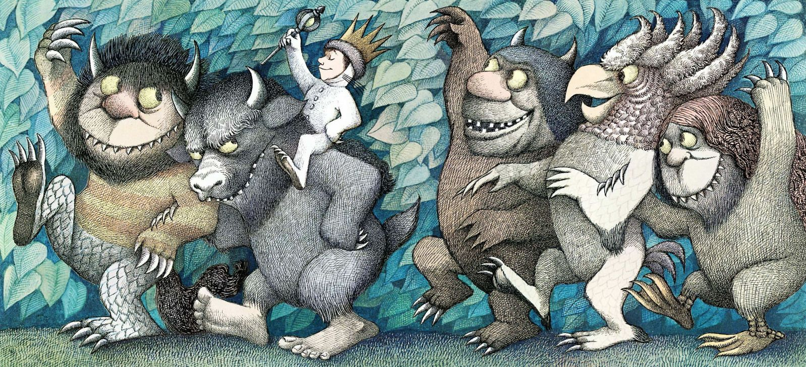 Image result for where the wild things are book pages