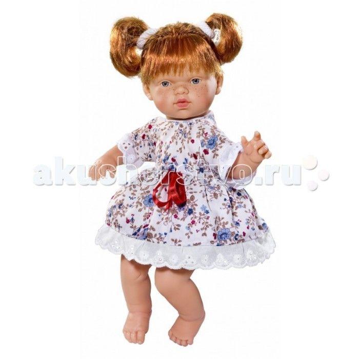 ASI Кукла Ната 25 см 443800  ASI Кукла Ната 25 см 443800 с симпатичным личиком и очаровательным нарядом!  Голова, руки и ноги у этой куклы выполнены из винила, а тело из ткани с наполнителем. У Наты пухленькие пальчики на руках и ногах, маленькие выразительные черты лица, живые глазки и розовые губки, приоткрытые в улыбке, придают ей особое очарование! У куколки Наты рыжие короткие волосы, собранные в два озорных хвостика, что придает ей задорный вид! Одета в платье с цветочным принтом.  Все…