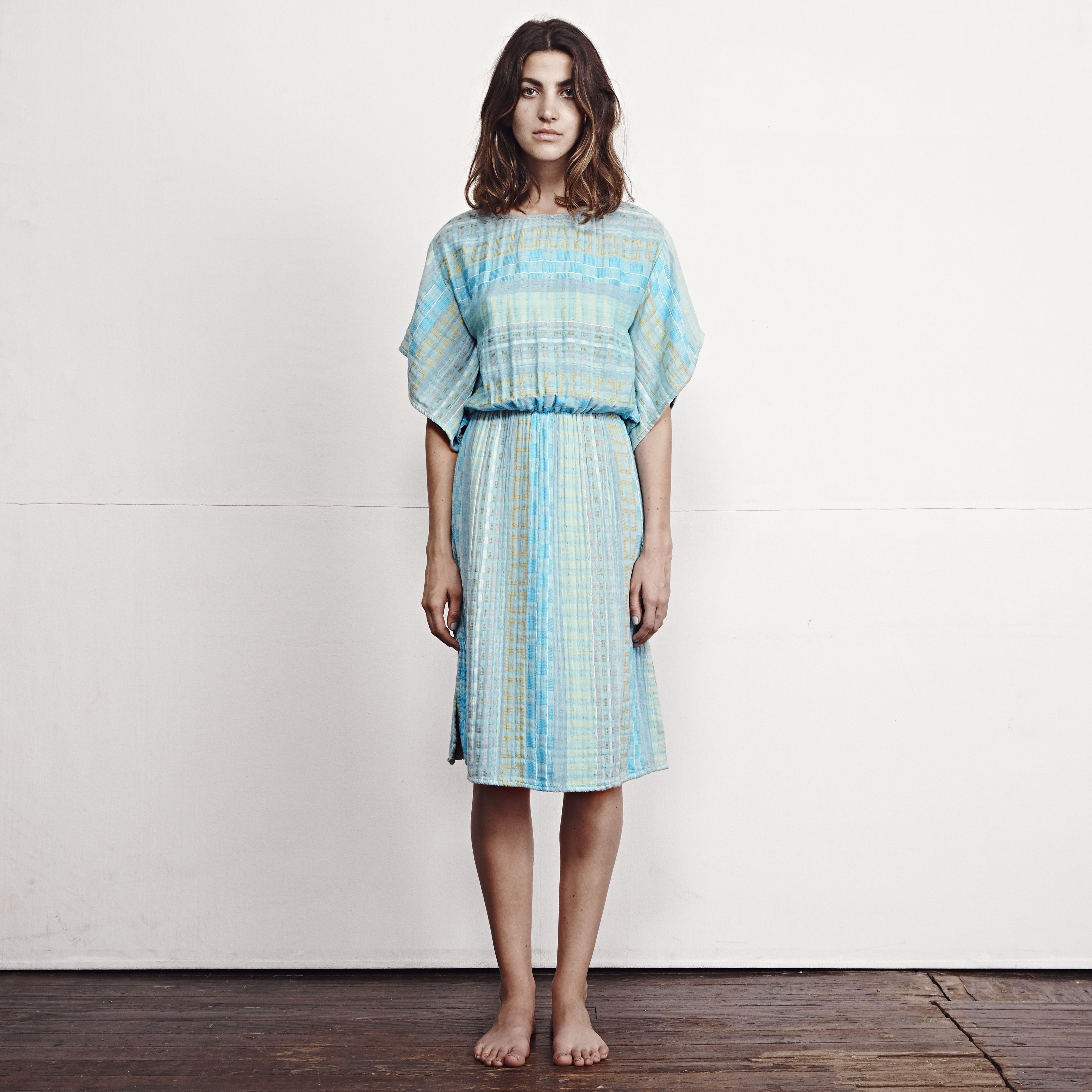 ace&jig Ray Dress in Isle | ACE&JIG SPRING15 COLLECTION ...