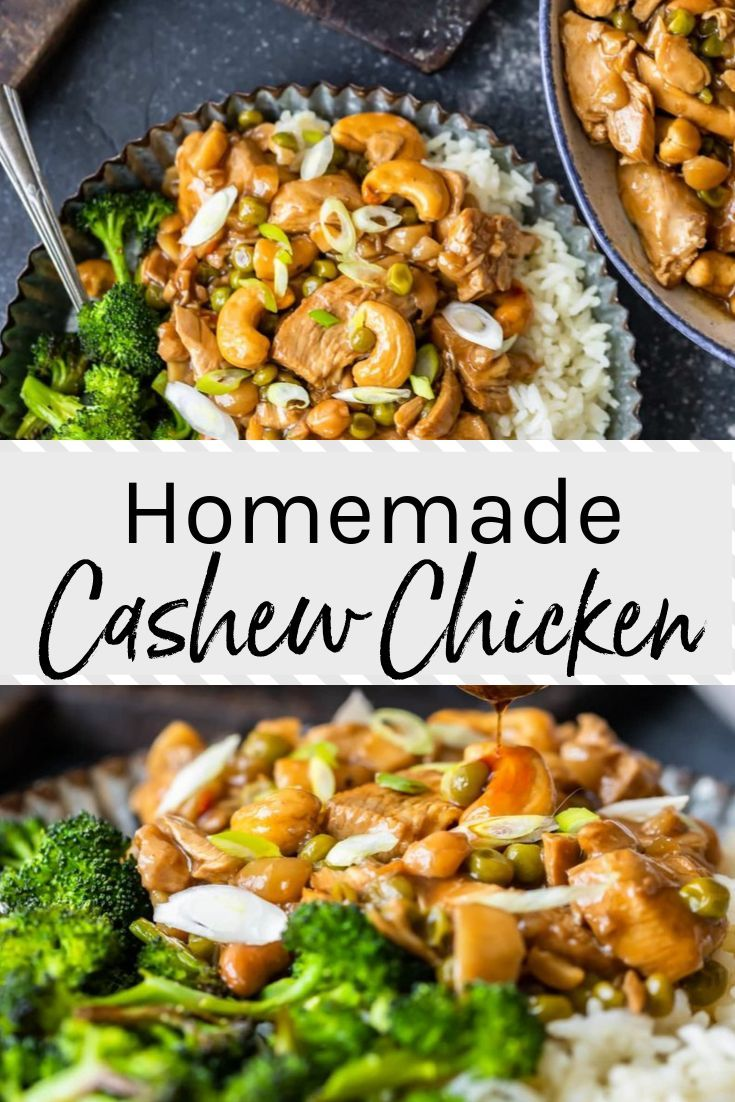 Photo of Better than takeout! Try this easy Cashew Chicken recipe instead of takeout. Ser…