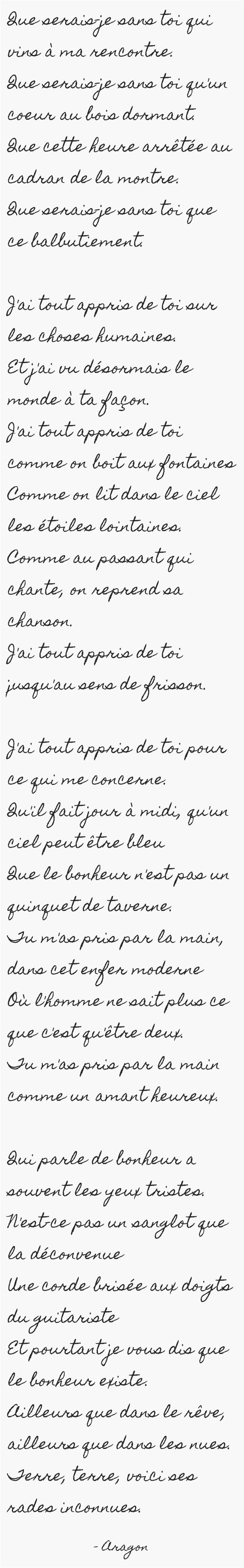 Jean Ferrat Que serais-je sans toi Lyrics