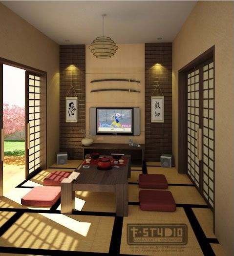 Japanese syle interior, look very comfortable #japanese #interior