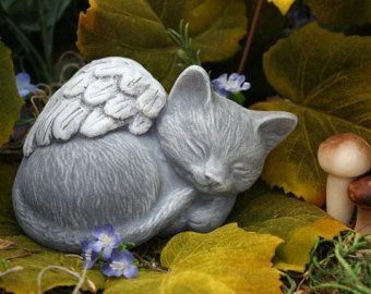 Cat · Angel Cat Statue   Pet Memorial Marker