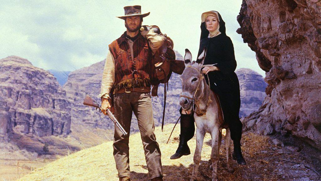 Image Result For Two Mules For Sister Sara Películas Del Oeste Vaqueros Del Viejo Oeste Mulas