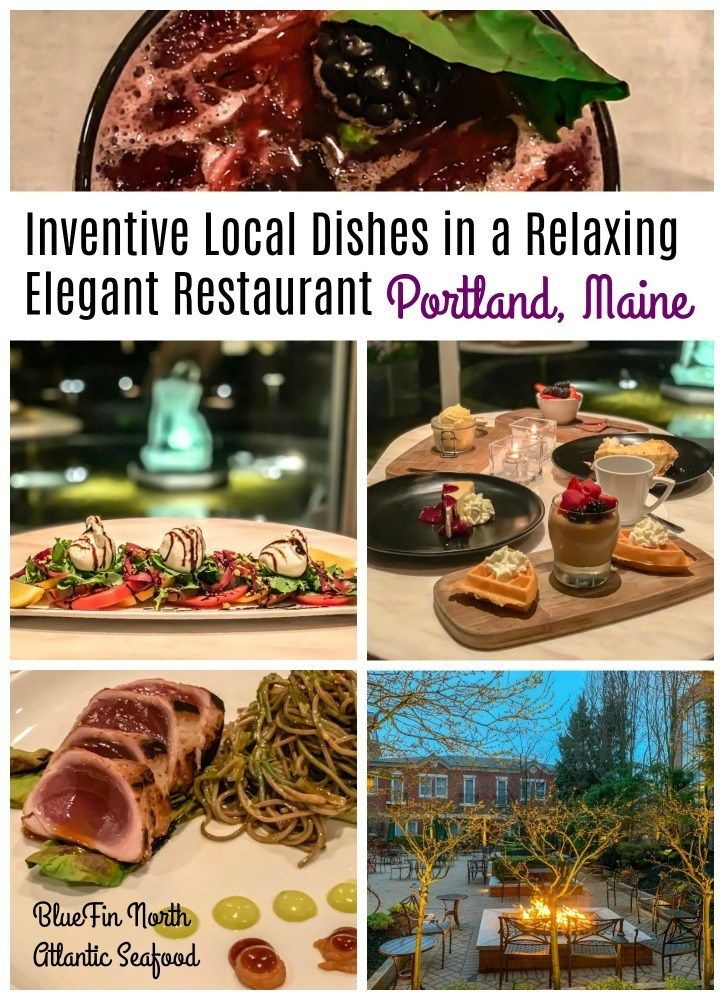 Inventive Local Dishes In A Relaxing Elegant Restaurant In Portland Maine Foodie Travel Travel Food Elegant Restaurants