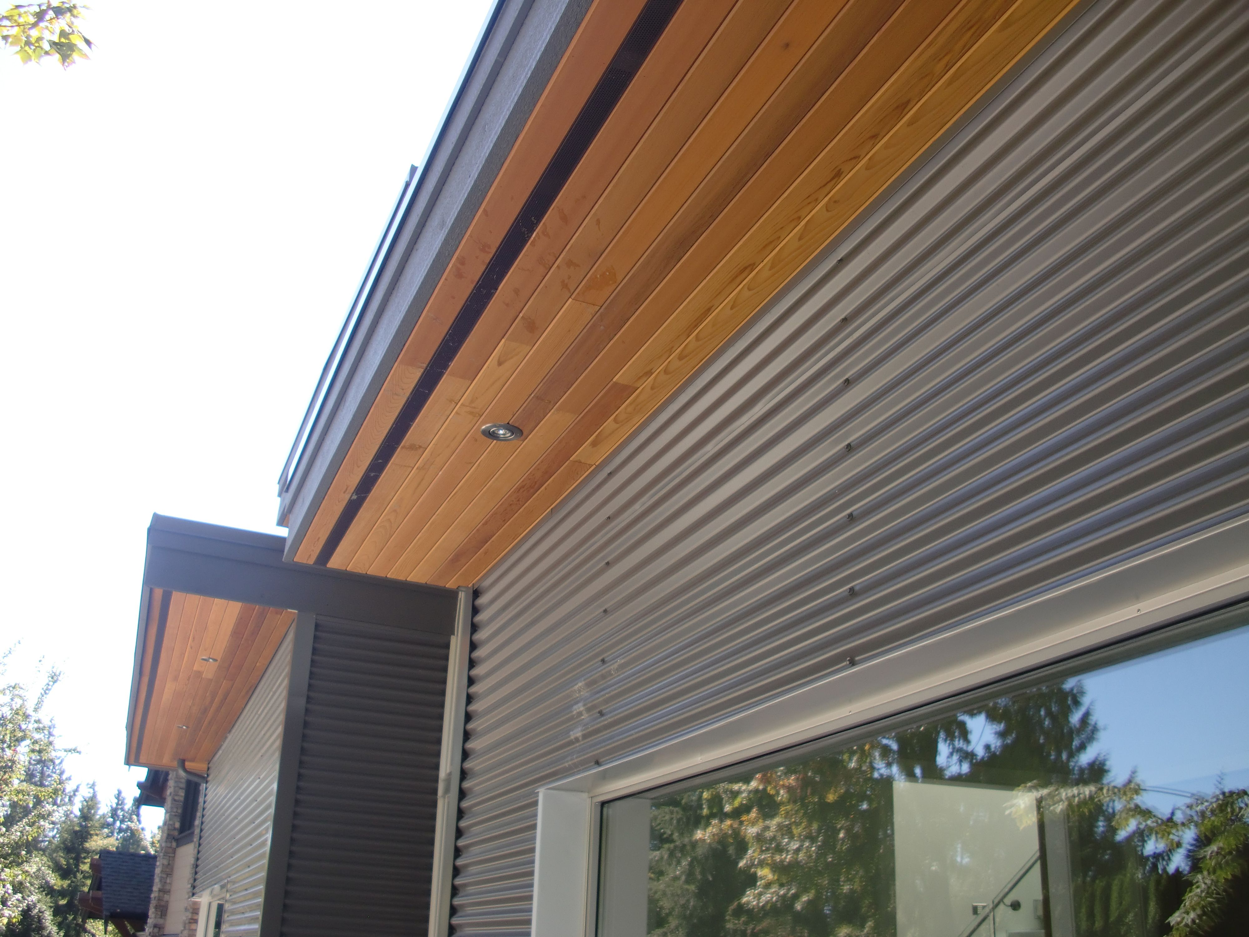 Wood Siding Ventilation : Cedar soffits vancouver google search ideas for the