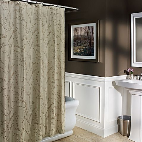 M Style Blossom 72 Inch X Shower Curtain