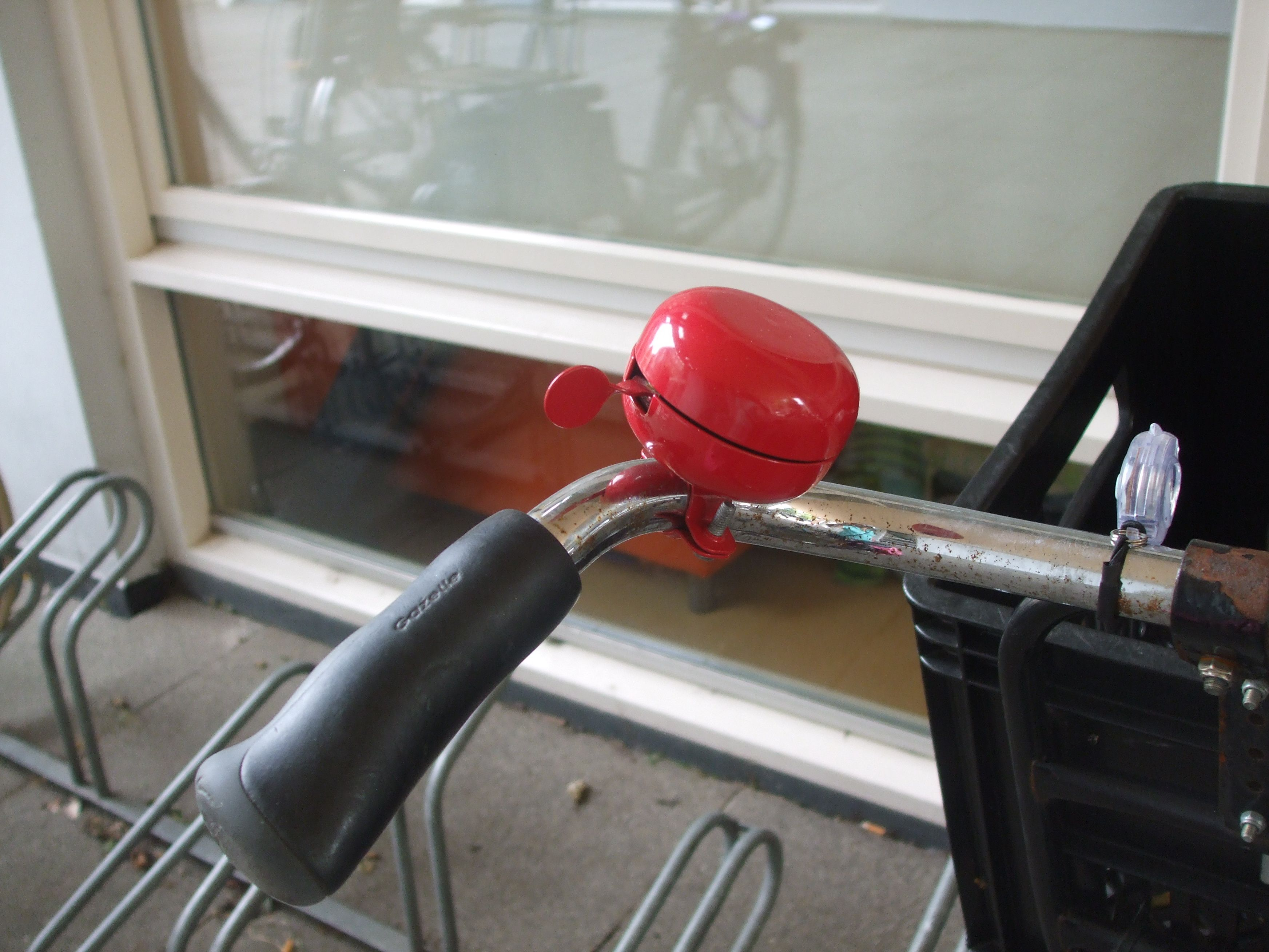 small red bike bell