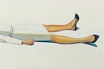 Supine Woman, 1963 by Wayne Thiebaud
