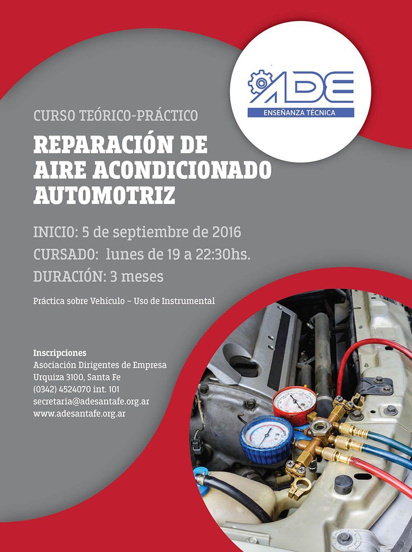 Reparación de Aire Acondicionado Automotriz (2016) Aire