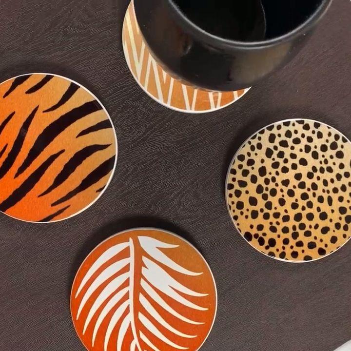 Create custom coasters using Cricut infusible ink. #pintowin2019