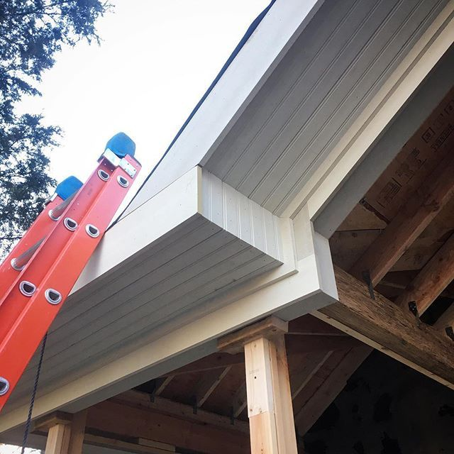 Soffit Fascia And Beam Details All Of This Is Boral