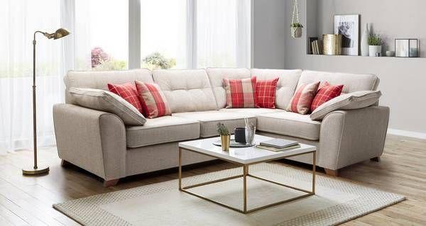 keeper left hand facing arm 3 seater corner sofa dfs corner sofa rh pinterest com