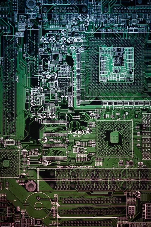 Awsome Looking Circuit Board Desktop Background Wallpaper Tattoo