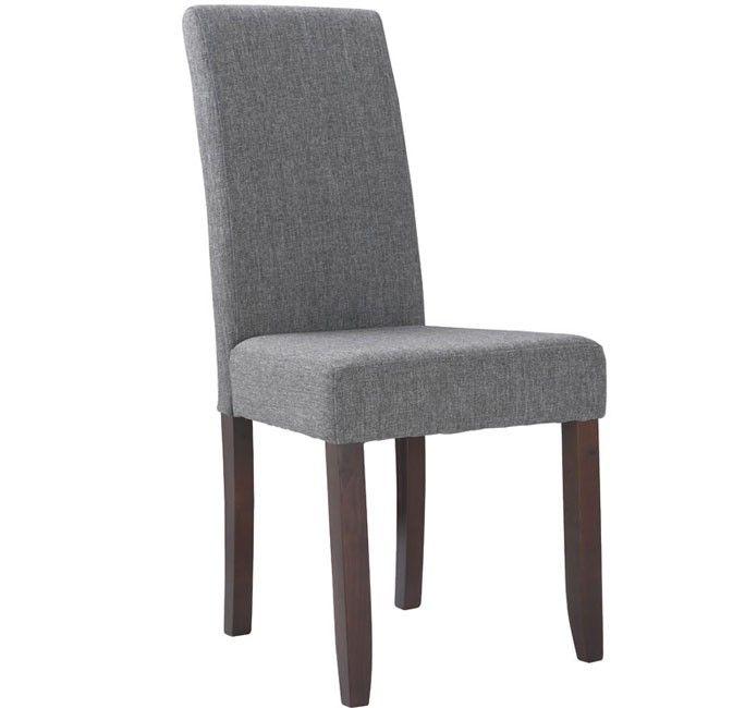 silla de comedor de diseo rossa en color gris - Sillas De Comedor De Diseo
