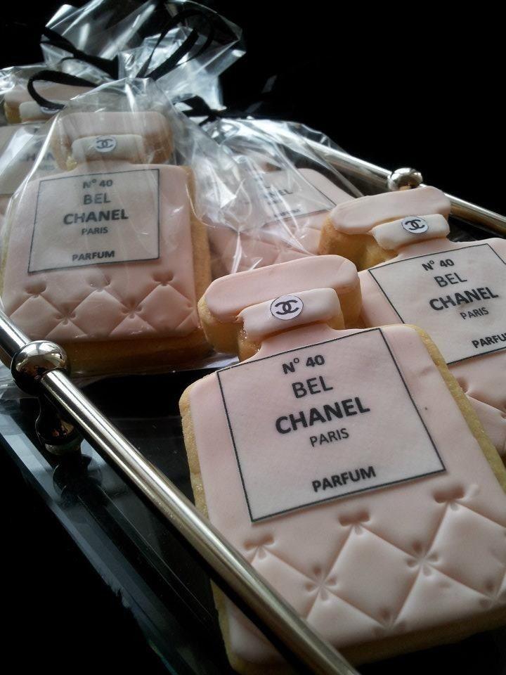 Perfume Chanel Cookies