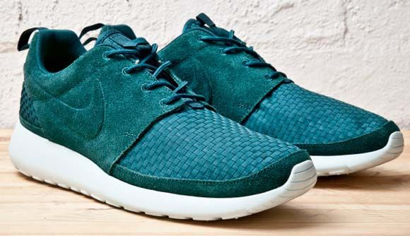 3006f17e32e20 ... official store nike roshe run woven dark atomic green 8cab0 bf11f