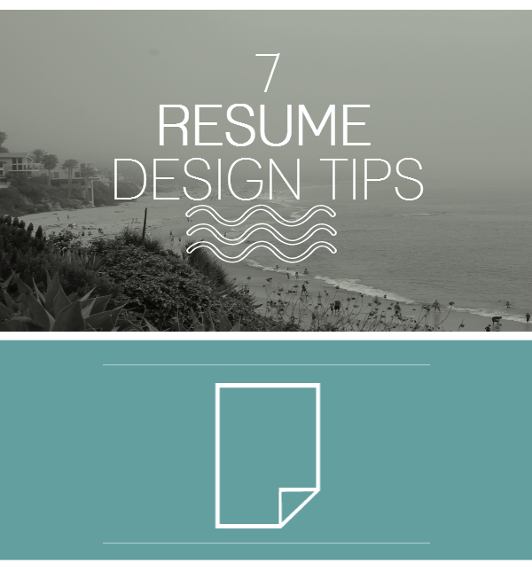 Resume Design Tips  Career    Career Resume Cover