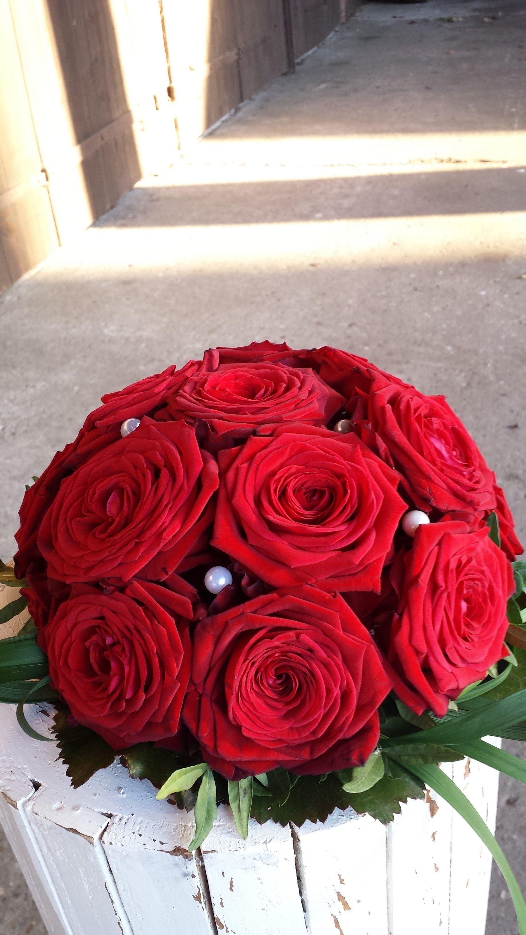 Hochzeit Wedding Dekoration Rosen Blumen Rot Www Juliane Deko De